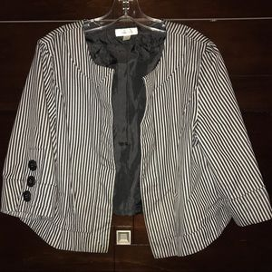 DRESSBARN crop dress blazer